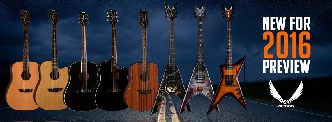 Dean Guitars 2016