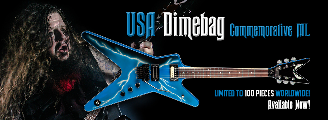 Dean USA Dimebag Commemorative ML