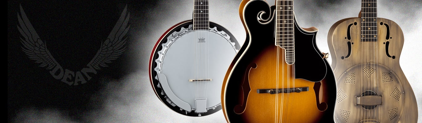 Browse Bluegrass Instruments by Dean