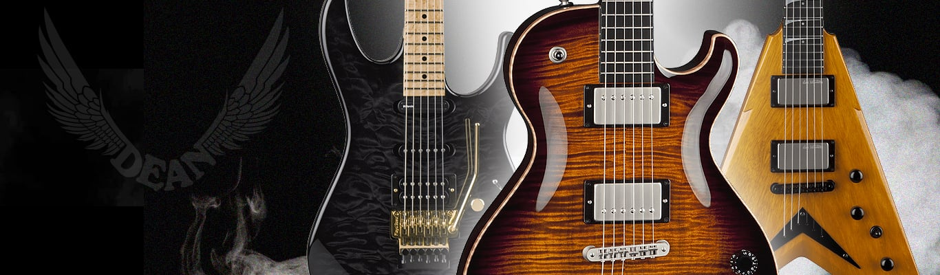 Browse Electric Guitars by Dean