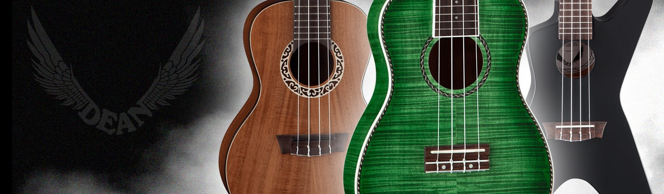 Browse Ukuleles by Dean