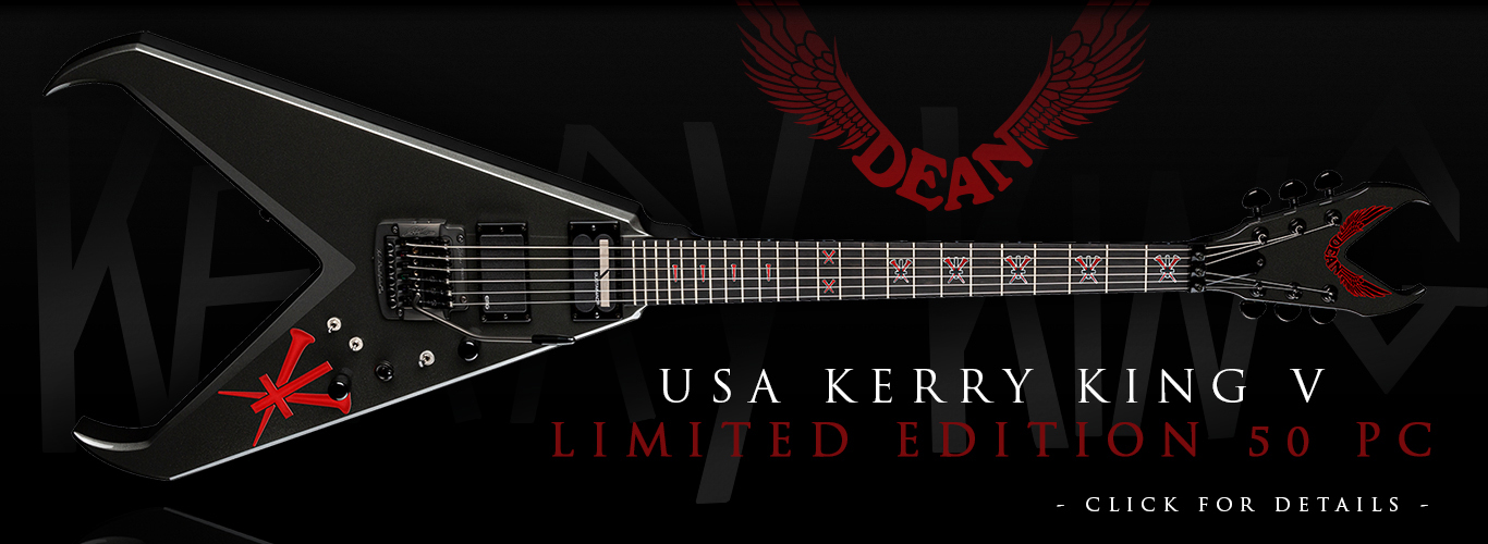 USA Kerry King V Limited Edition 50 Pc