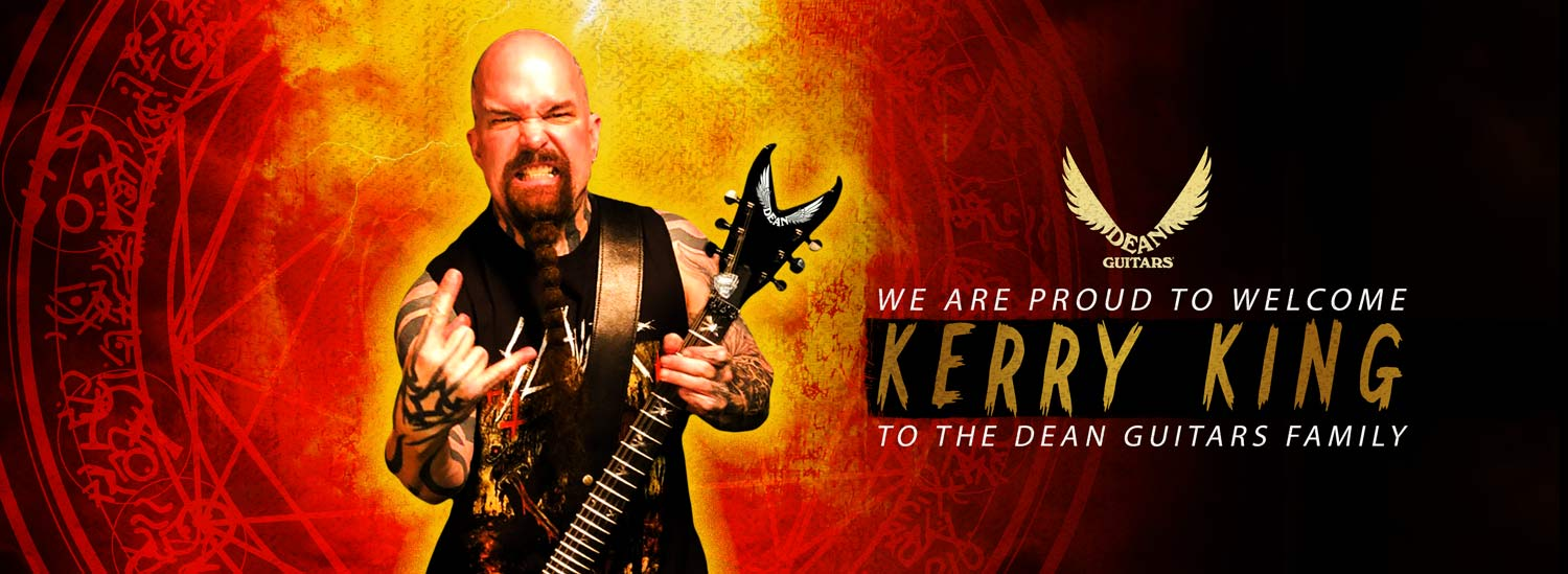 Dean Guitars Welcomes Kerry King of Slayer