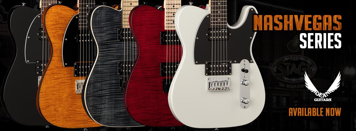 Dean Guitars Nash Vegas Series