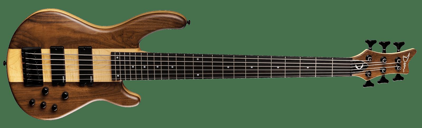Edge Pro 6 String Walnut Satin Natural