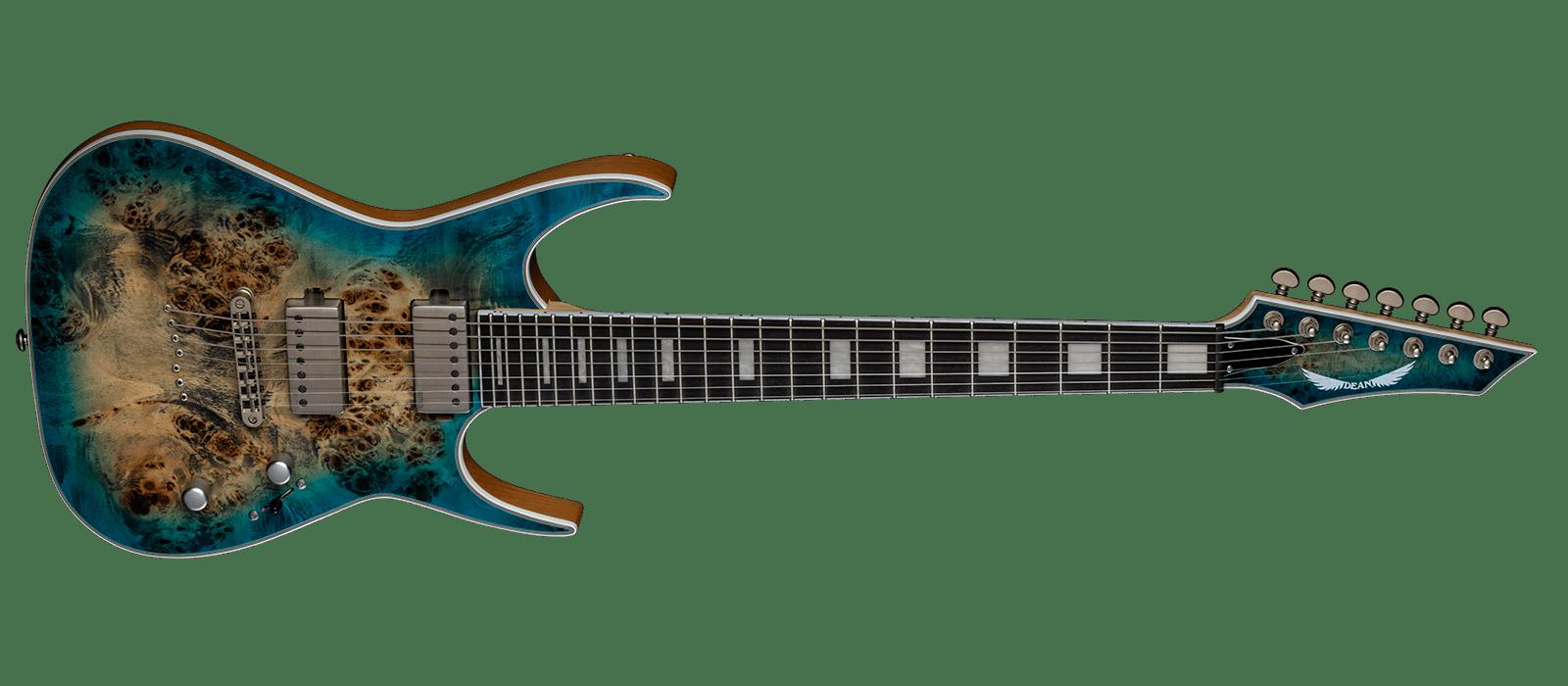 Exile Select 7 String Burl Poplar STQB