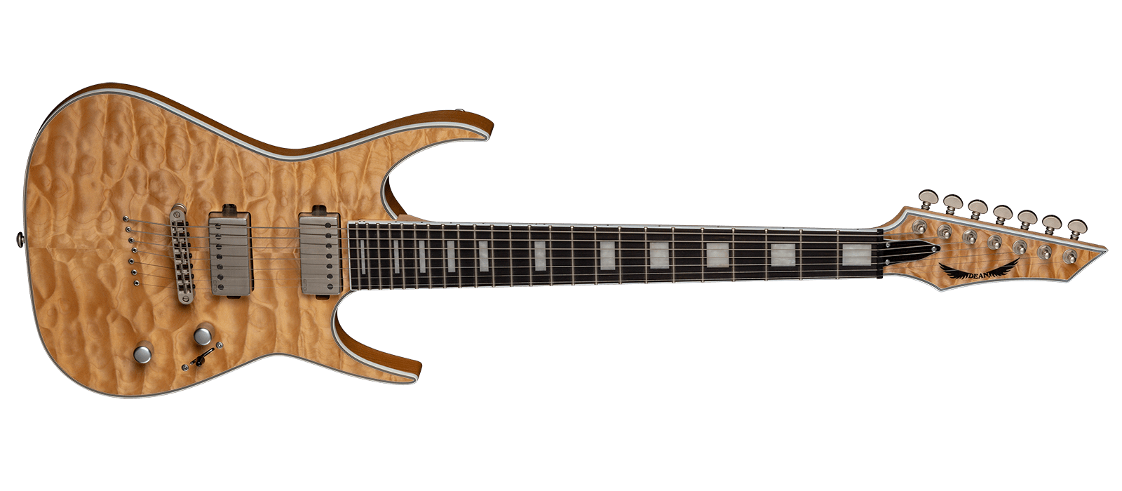 Exile Select 7 String Quilt Top SN