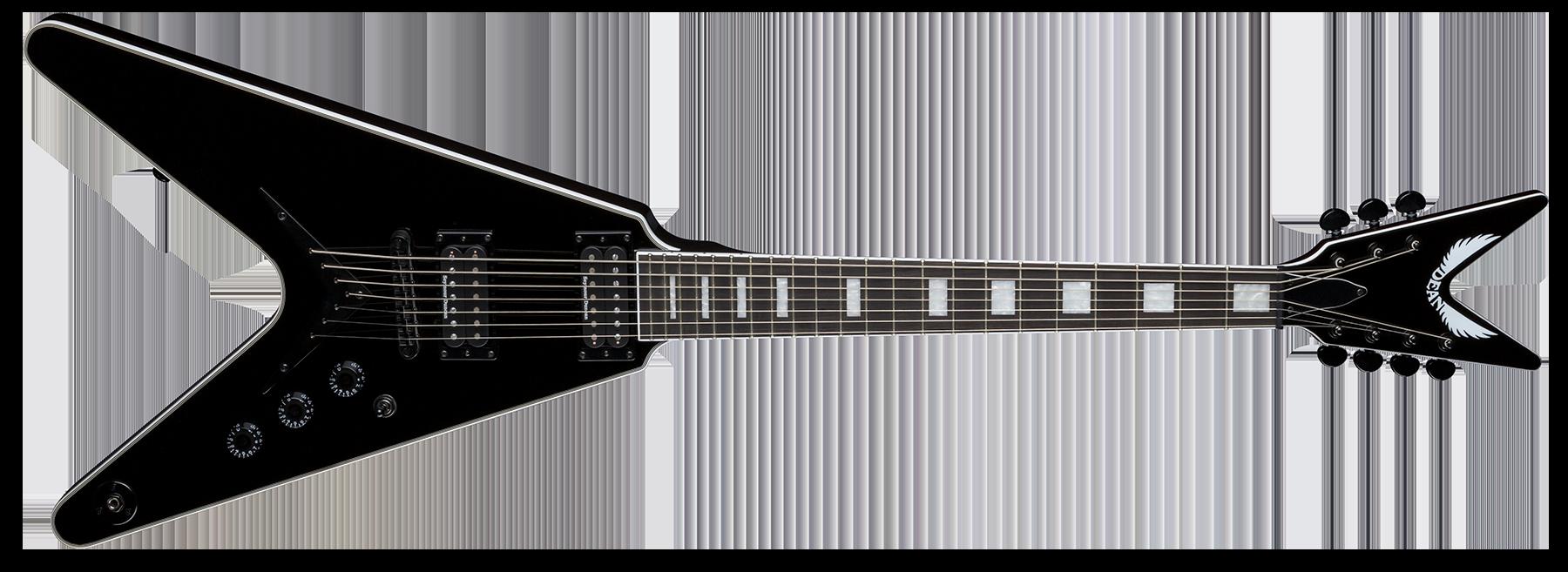 V Select 7 String Classic Black