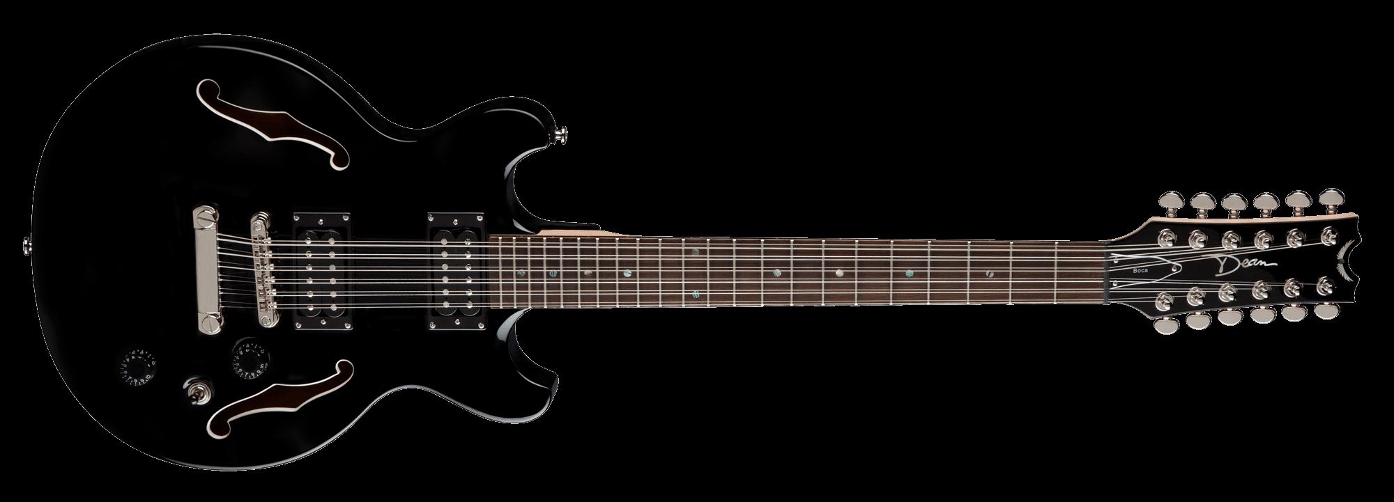 Boca 12 String Classic Black