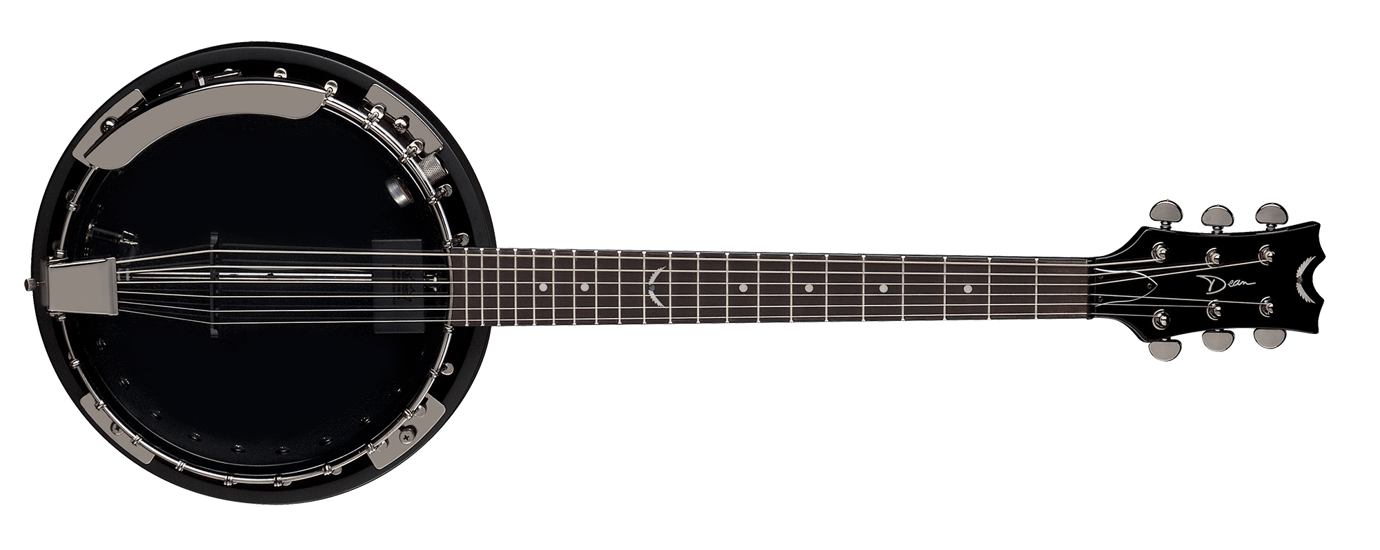 Backwoods 6 Banjo w/Pickup Black Chrome