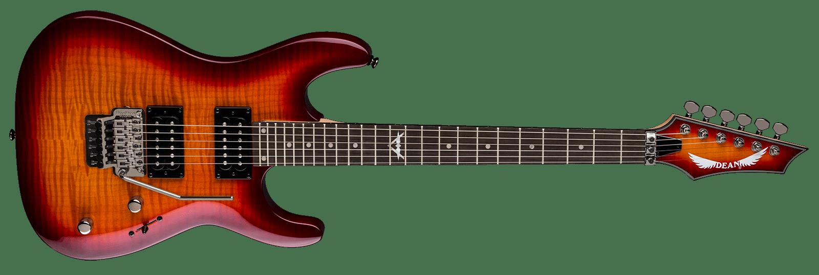 Custom 350 Floyd Trans Amberburst