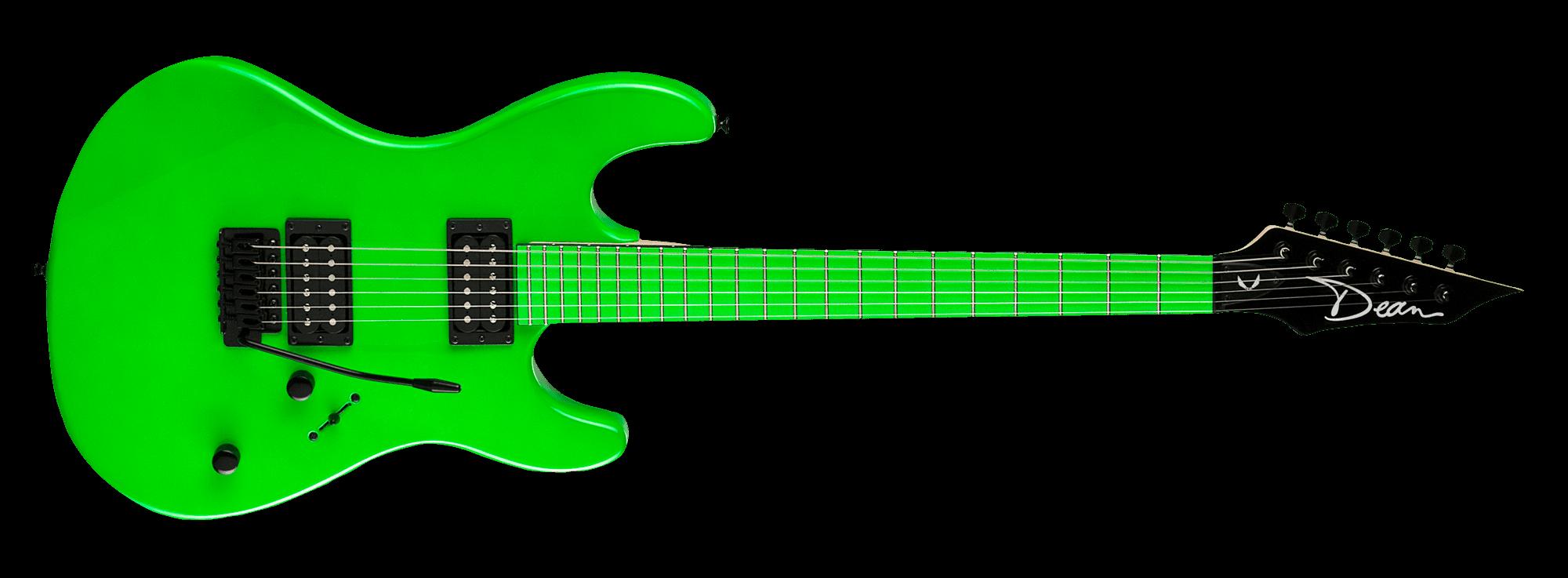 Custom Zone 2 HB Florescent Green