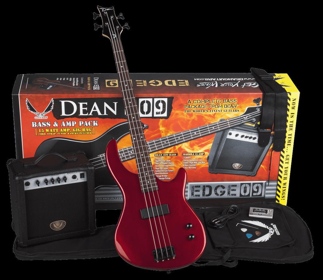 Edge 09 Bass Pack MRD w/Amp & Acc