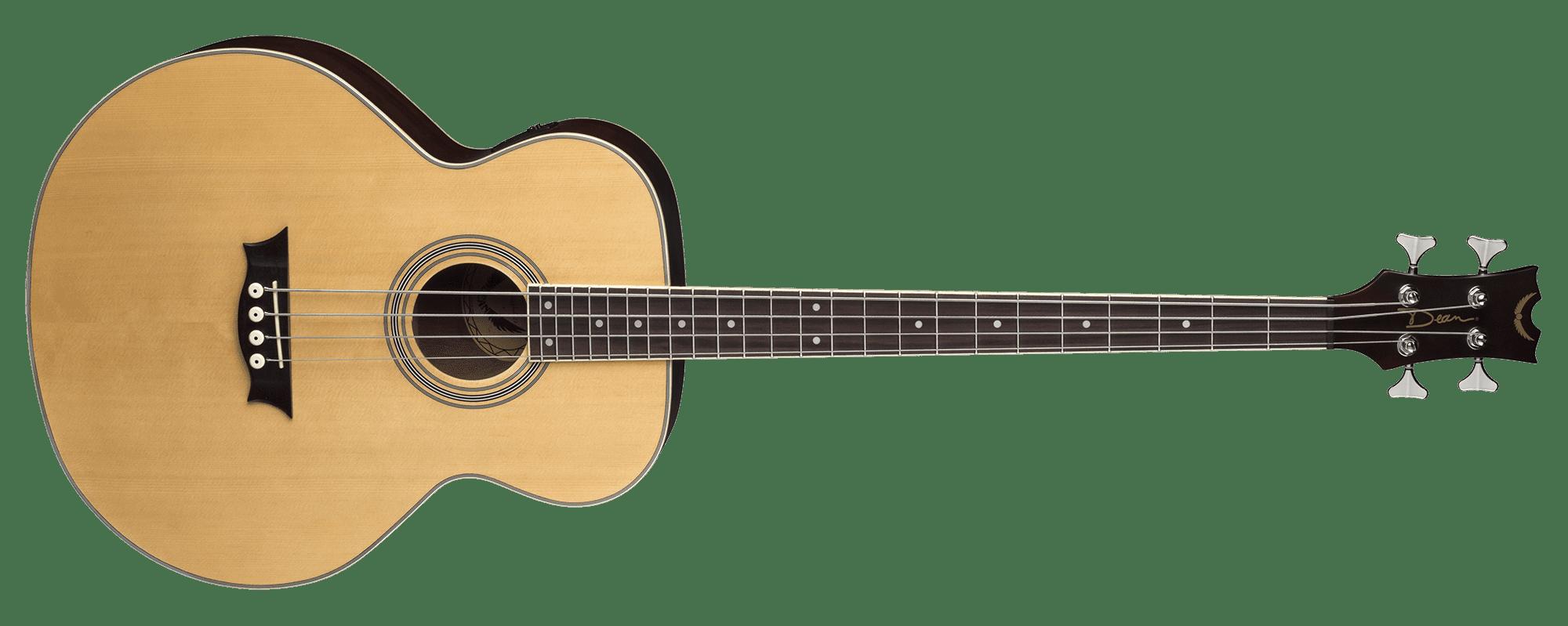 Acoustic/Electric Bass Satin Natural