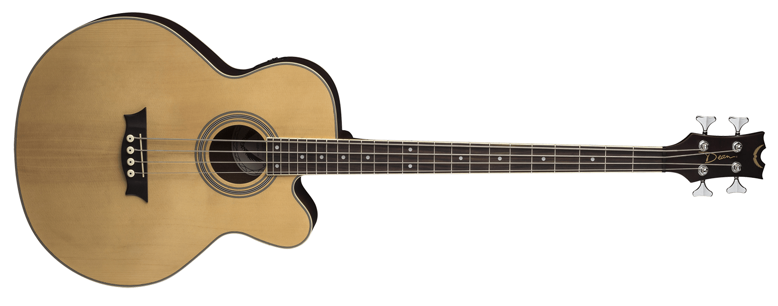 Acoustic/Electric Bass CAW SN