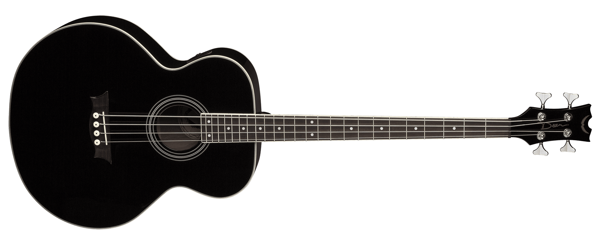 Acoustic/Electric Bass Classic Black