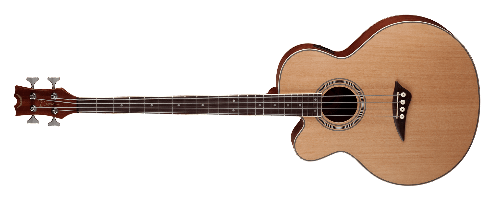 Acoustic/Electric Bass CAW Lefty SN