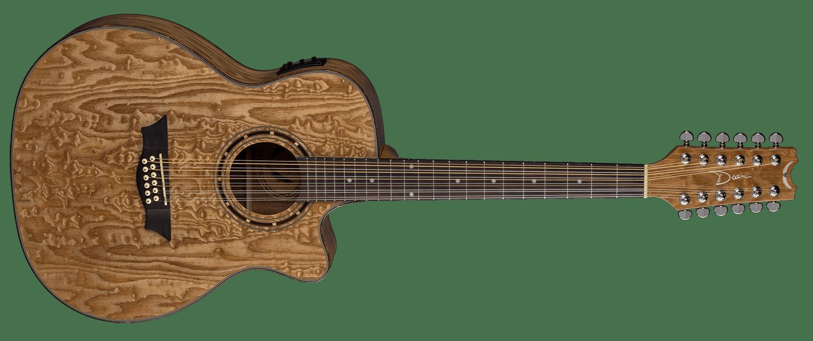 Exotica Quilt Ash A/E 12 String GN