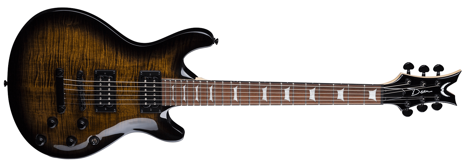 Icon X Flame Top Charcoal Burst