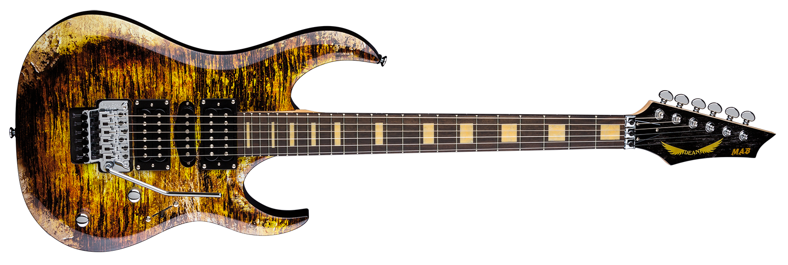 Michael Batio MAB Gold Relic