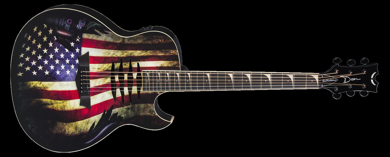 Mako Dave Mustaine A/E USA Flag