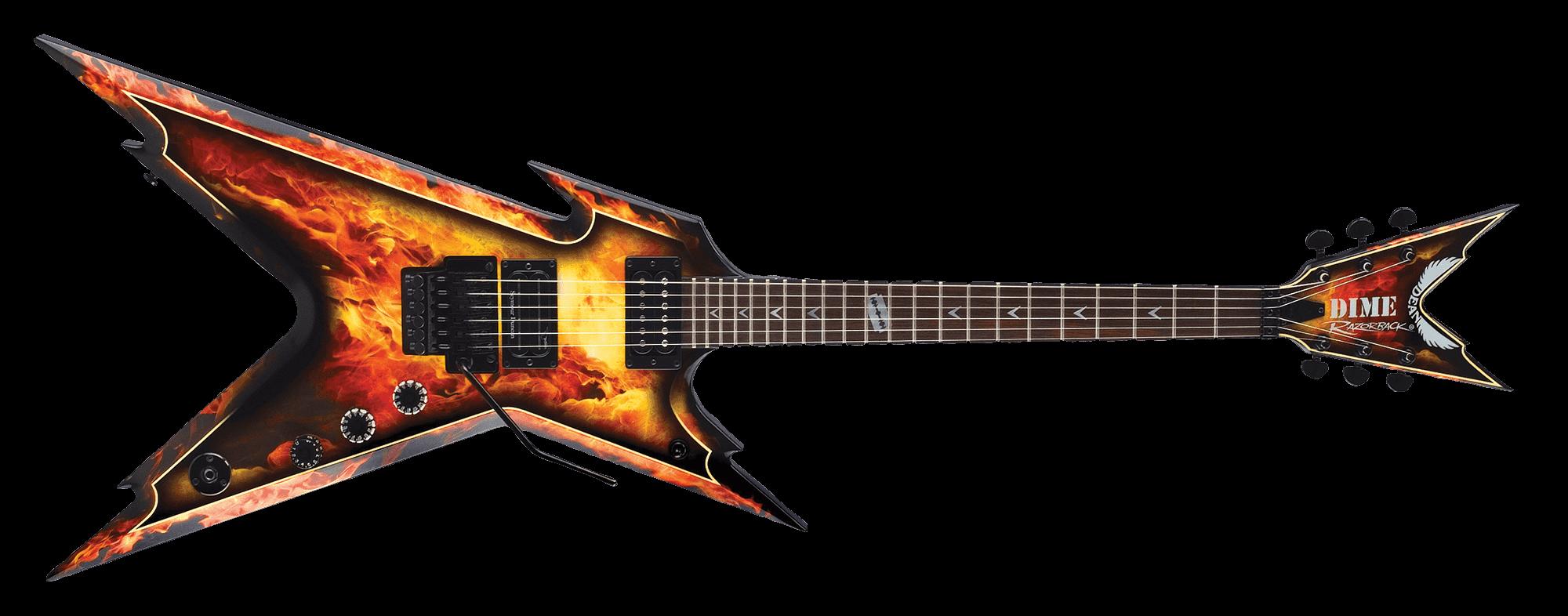 Razorback - Explosion w/Case | Dean Guitars