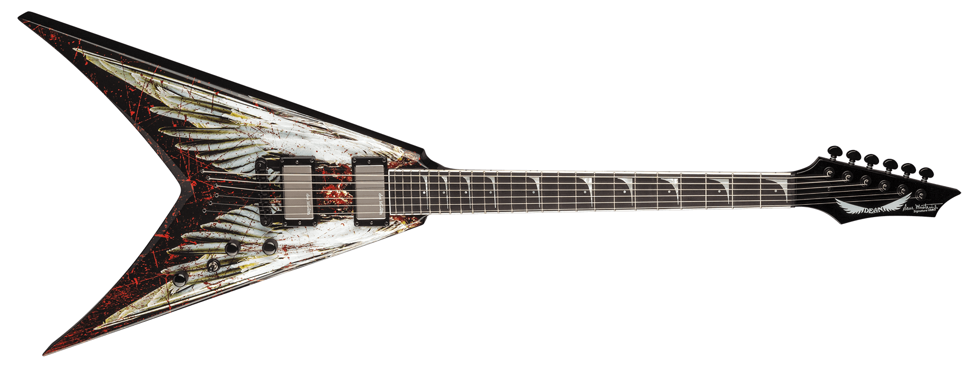 V Dave Mustaine - Angel of Deth w/Case