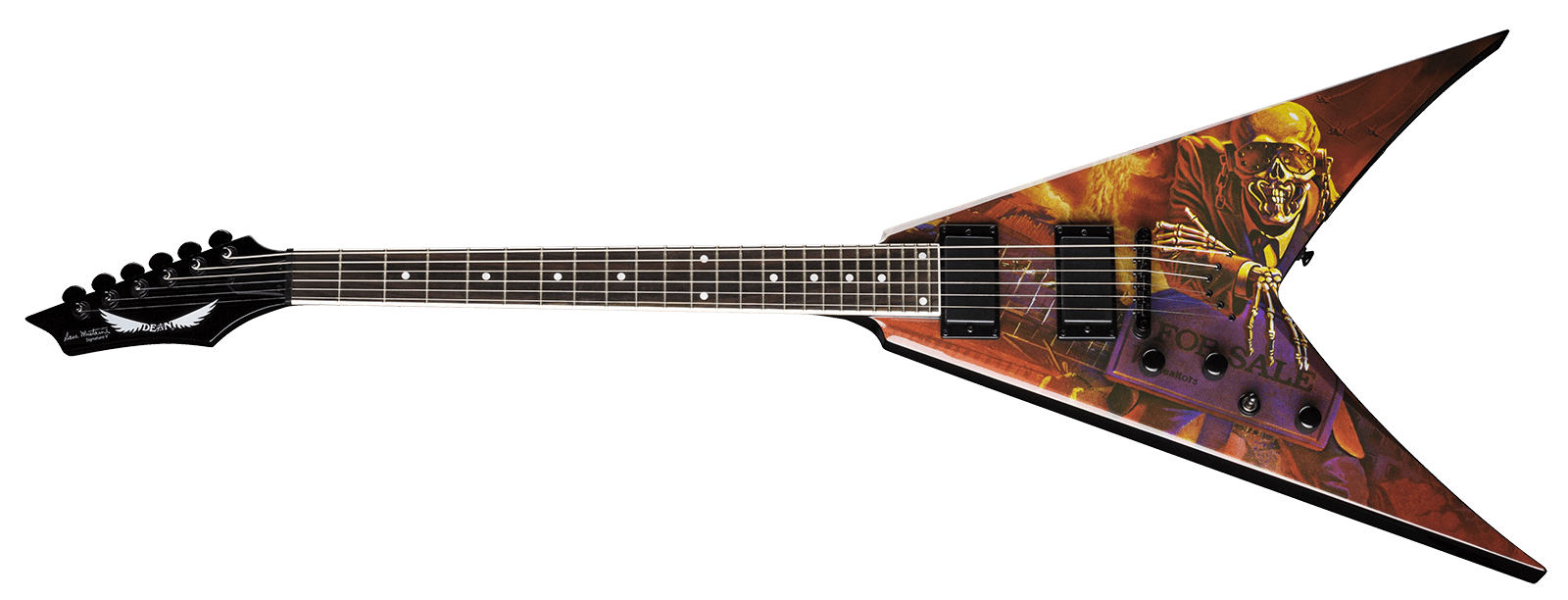 V Dave Mustaine Peace Sells Lefty